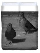 Mr And Mrs Dove Duvet Cover