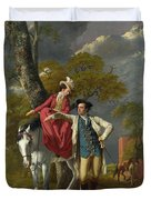 Mr And Mrs Thomas Coltman Duvet Cover