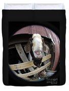 Mr B Goat Duvet Cover