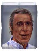 Mr. Garay Portrait Duvet Cover
