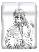 Mr. Jackson Duvet Cover