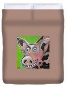 Mr Pig Duvet Cover