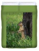 Mr. Squirrel Duvet Cover