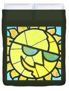 Mr Sunny Day Duvet Cover