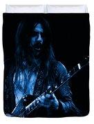Mrmt #70 Enhanced In Blue Duvet Cover