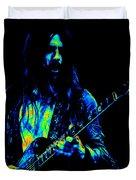 Mrmt #70 Enhanced In Cosmicolors Duvet Cover