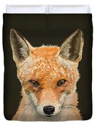 Mrs. Foxy Duvet Cover