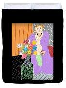 Mrs. Matisse Duvet Cover