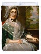 Mrs Richard Alsop 1792 Duvet Cover