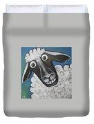 Mrs Sheep Duvet Cover