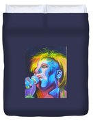 Mrs Ziggy Stardust Duvet Cover