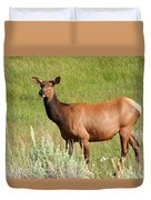 Ms. Elk Duvet Cover