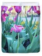 Msu Spring 33 Duvet Cover