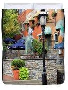 Mt Adams Fountain 2 0036 Duvet Cover