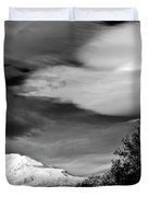 Mt Adams With Lenticular Cloud Duvet Cover