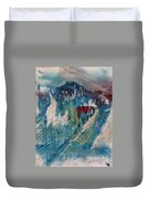 Mt Cabins Duvet Cover by Gregory Dallum