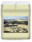 Mt. Capulin New Mexico Duvet Cover
