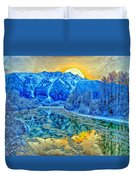 Mt Currie Fantasy Duvet Cover