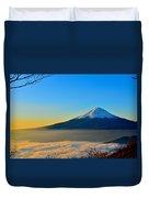 Mt. Fugi Duvet Cover