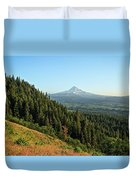 Mt Hood In The Distance Duvet Cover