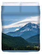 Mt Hood With Lenticular Cloud 2 Duvet Cover