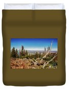 Mt. Howard, Wallowa Lake Duvet Cover