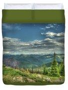 Mt. Marston Scenic View Duvet Cover