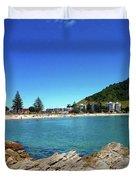 Mt Maunganui Beach 9 - Tauranga New Zealand Duvet Cover