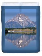 Mt. Moran Duvet Cover