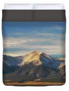 Mt. Princeton Duvet Cover
