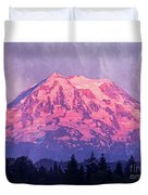Mt. Rainier Duvet Cover