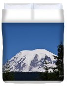 Mt Rainier Duvet Cover