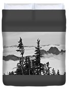 Mt Rainier National Park Duvet Cover