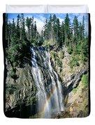 Mt. Rainier National Park Duvet Cover