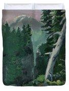 Mt Ranier Duvet Cover