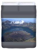 Mt Rinjani Duvet Cover