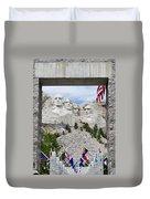 Mt Rushmore Entrance Duvet Cover