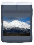 Mt. Shasta Photograph Duvet Cover