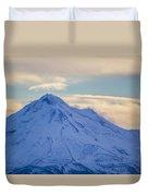 Mt. Shasta Snow Drifts Duvet Cover