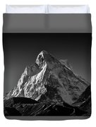 Mt Shivling Above Tapovan Duvet Cover