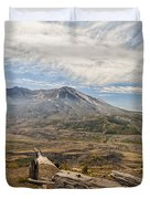 Mt St Helens Duvet Cover by Brian Harig
