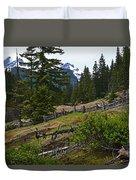 Mt. Trails Duvet Cover
