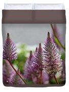 Mt. Washington Flowers Duvet Cover