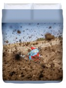 Mud Action Duvet Cover