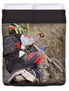 Mud Mayhem Duvet Cover