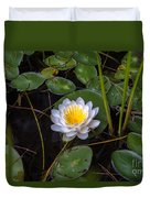 Mudd Pond Water Lily Duvet Cover