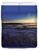 Muddy Beach Duvet Cover