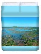 Mudflat Near Hooge Duvet Cover