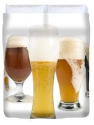 Mug Filled With Beer And Bottles Duvet Cover by Deyan Georgiev
