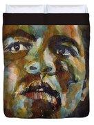 Muhammad Ali   Duvet Cover by Paul Lovering